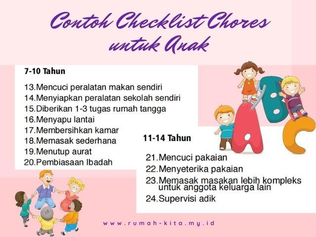 contoh life skill untuk anak