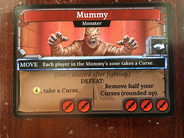 Clank! The Mummy's Curse Expansion Mummy Monster Card