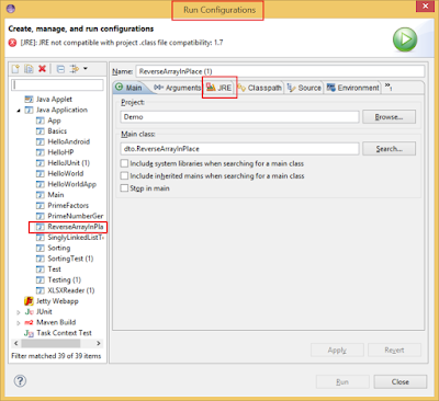 How to change JRE version in Eclipse