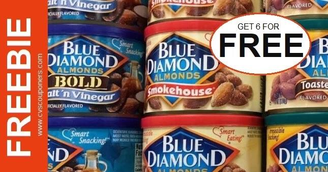 Free Blue Diamond Almonds at CVS