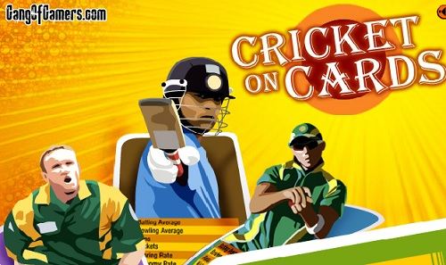 Play Cricket on Cards Online Game