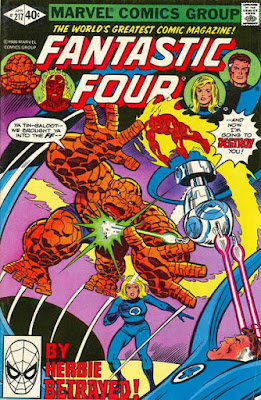 Fantastic Four #217, HERBIE the robot