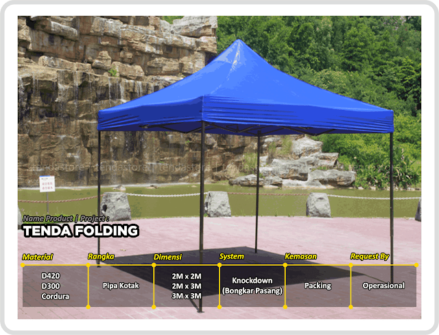 Tenda - Folding - Lipat