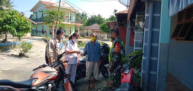 Operasi PPKM Skala Micro Dilakukan Personel Jajaran Kodim 0207/Simalungun Bersama Dinas Terkait