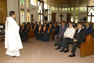 Con Eucaristia Edesur conmemora su 18 años de Fundacion en el Pais.