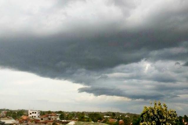 Quinta-feira será com nebulosidade e pancadas de chuvas isoladas em RO
