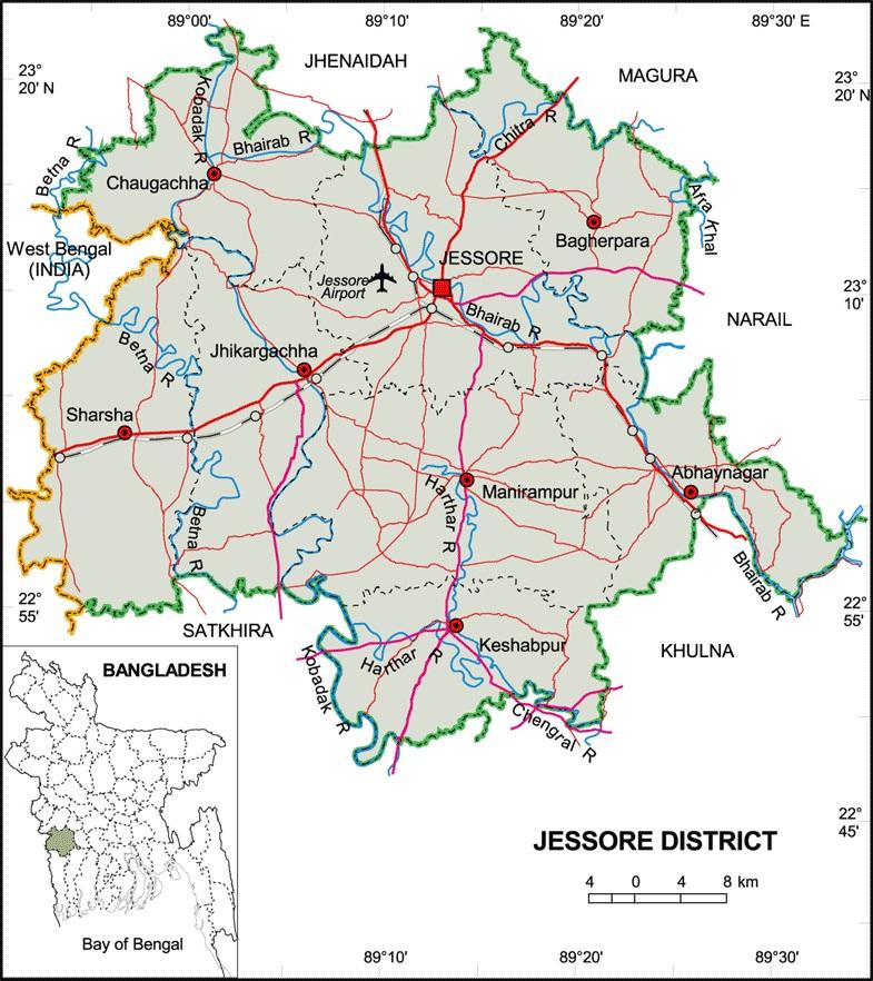Jessore Information Guide: Postal code of Jessore