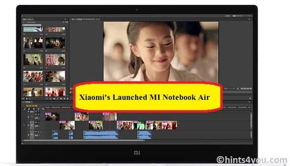 Xiaomi's MI Notebook: