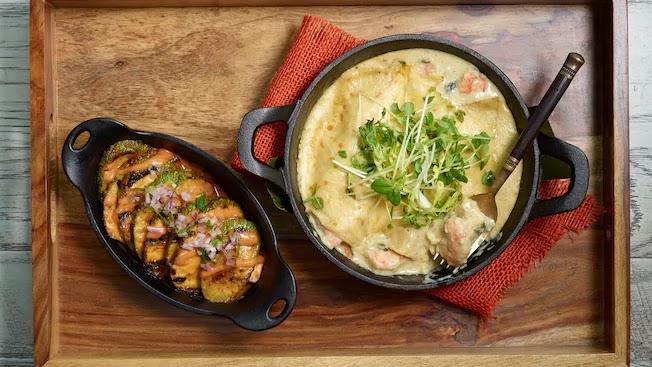 Restaurante mexicanoFrontera Cocina em Disney Springs Orlando: Petiscos do Frontera Cocina