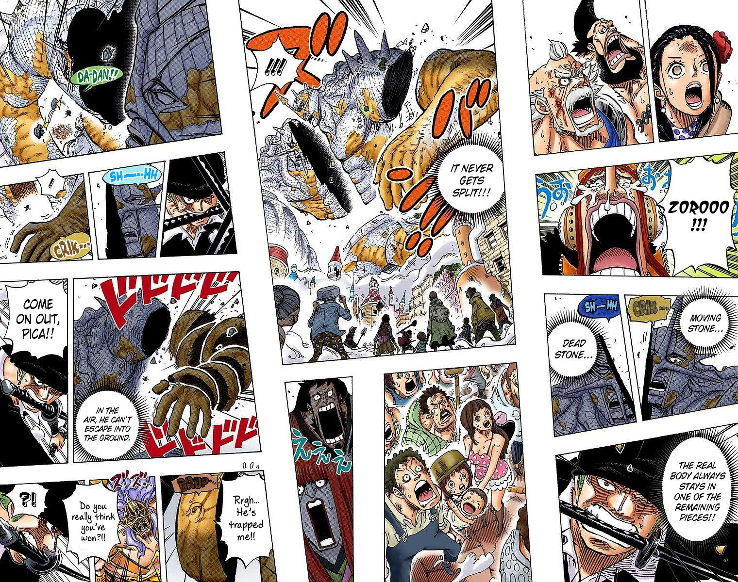 One Piece, Chapter 778 - One Piece Manga Online - Colored