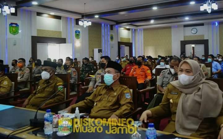 Bupati Masnah Hadiri Undangan Rapat Koordinasi Karhutla Provinsi Jambi