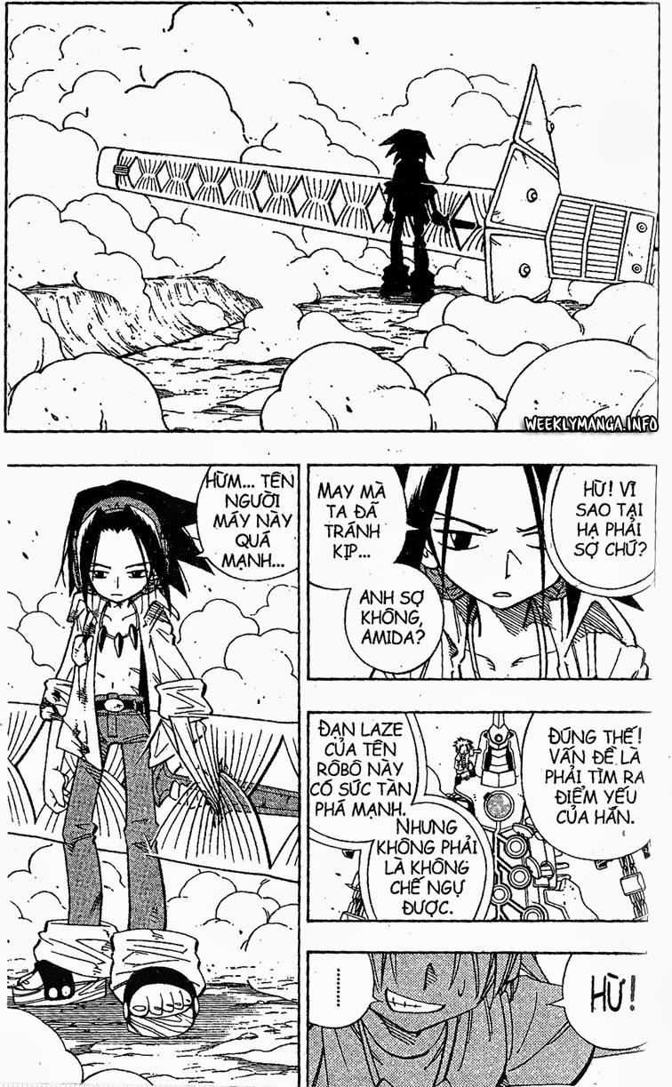 Shaman King [Vua pháp thuật] chap 193 trang 6