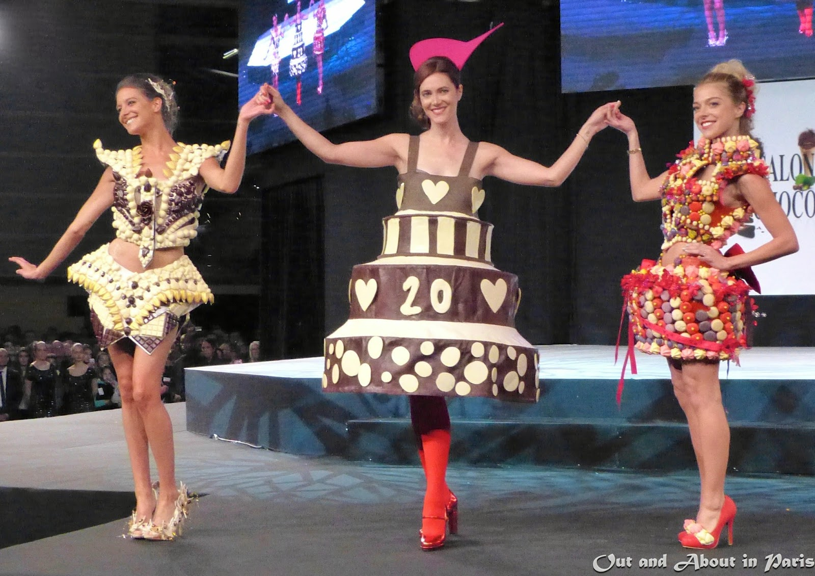 Salon Du Chocolat Nantes Chocolate Fashion Show At The 20th Annual Salon Du Chocolat In Paris