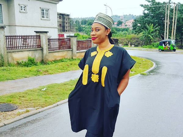 Trend Alert! Agbada For Ladies