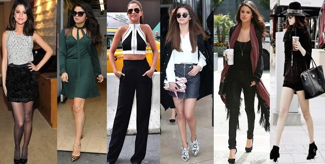 Looks da Selena Gomez