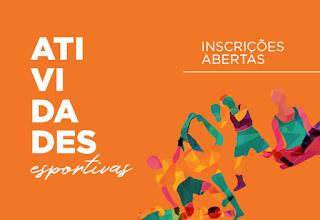 Inscrições abertas para atividades esportivas em Cajati