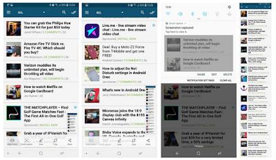 Cara mengambil screenshot di Galaxy Note 8