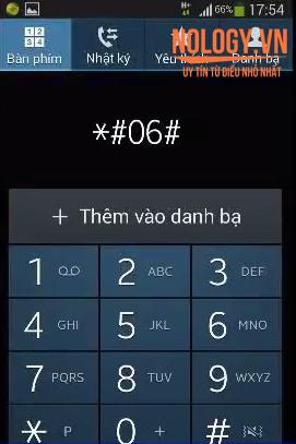 Check iMei của Samsung S6 cũ