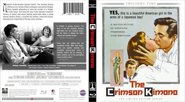 The Crimson Kimono (1959) Bluray Cover