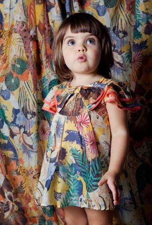 Model Baju Batik Anak Perempuan Modern Terbaru 9