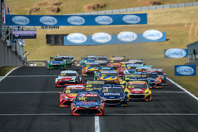 Quinta etapa da Stock Car acontece no Paraná. Crédito: Durra Bairros/Vicar