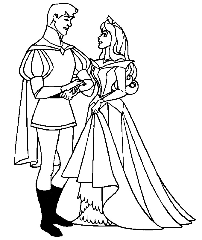 coloring book pages sleeping beauty   Disney Colouring Pages For Kids: December 2015
