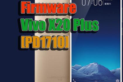 Firmware Vivo X20 Plus [PD1710] | OTA Update | Via Stock Recovery