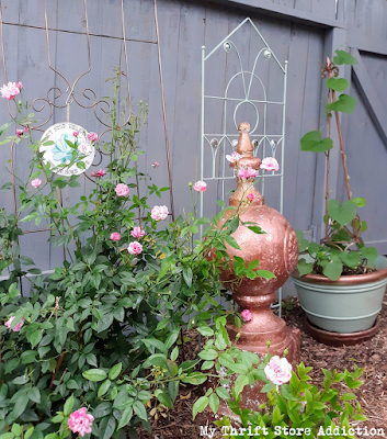 Copper flowerpot upcycle