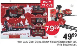 Giant 36 Pc. Disney Holiday Express Train Set