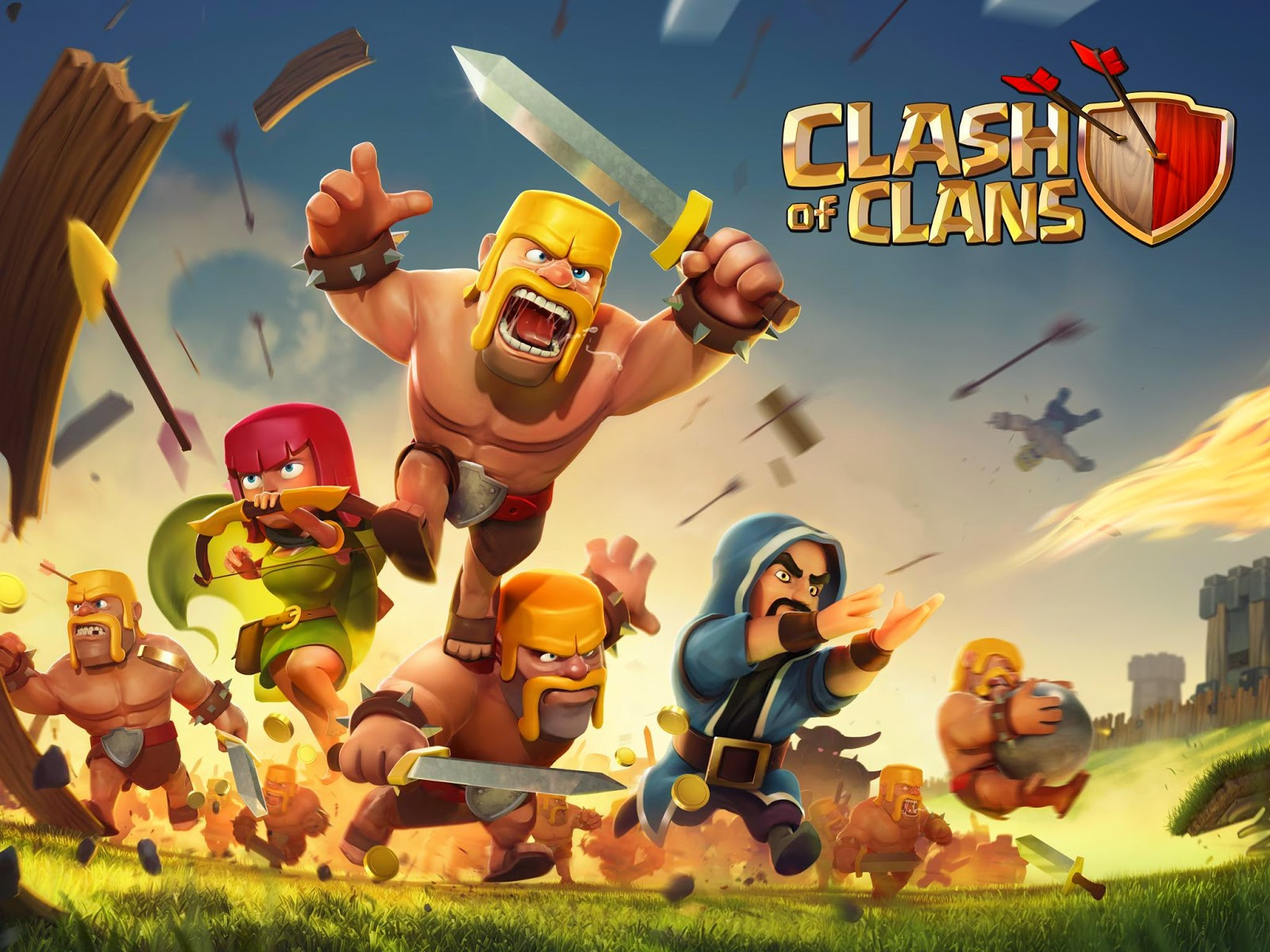 Wallpaper Of Clash Of Clans: Free Download High Definition