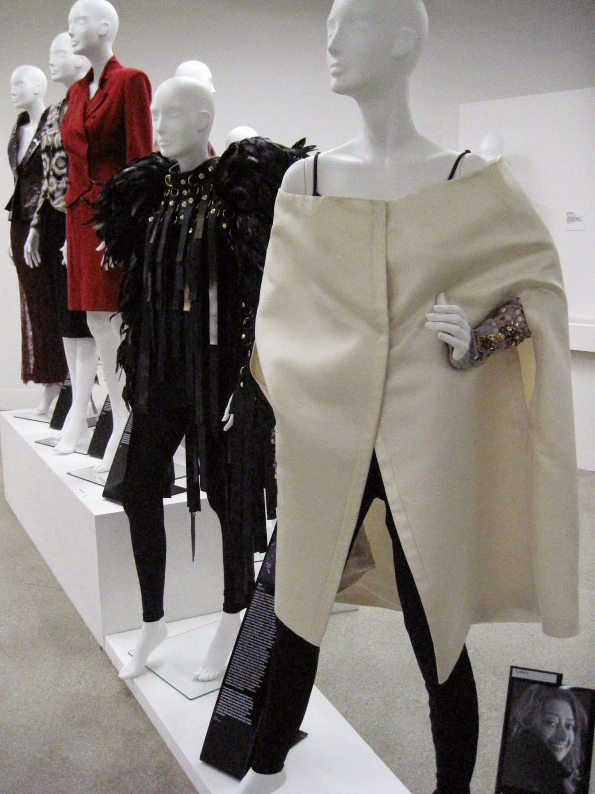 Women Fashion Power exhibition at the Design Museum