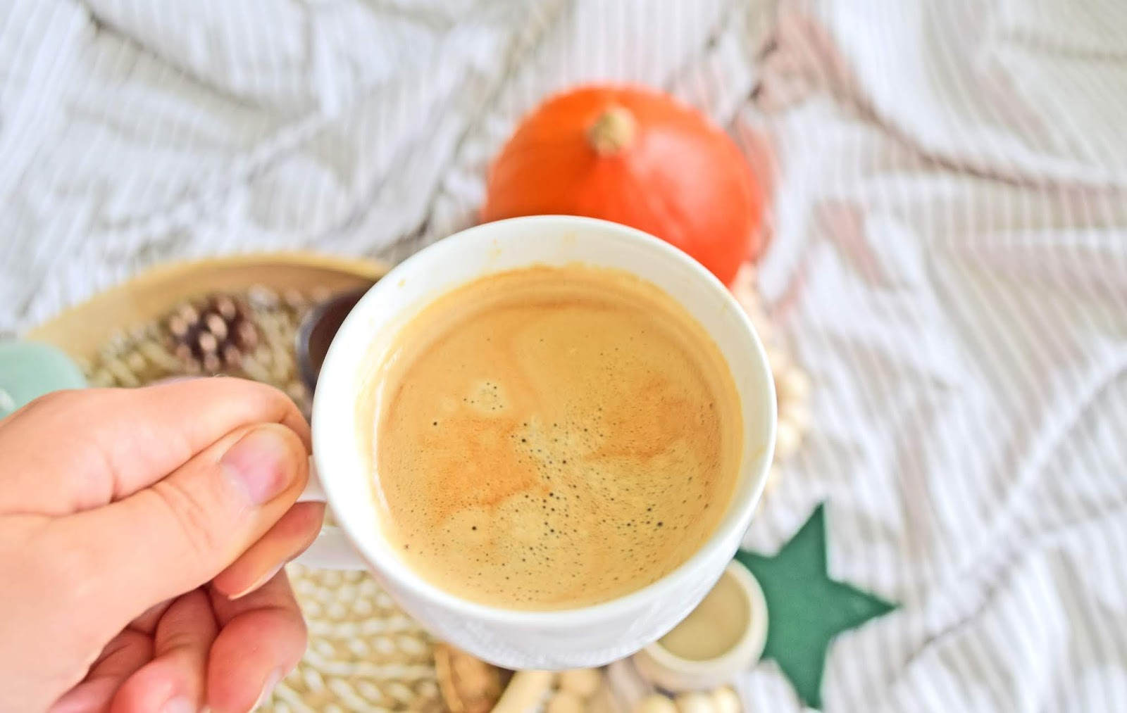 kawa na jesień