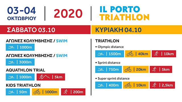 Ηγουμενίτσα: Παρουσίαση της διοργάνωσης IL PORTO TRIATHLON 2020 (+ΒΙΝΤΕΟ)
