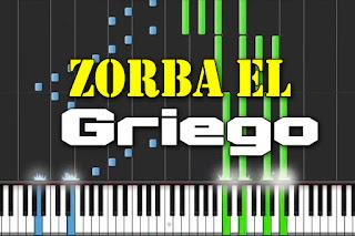 zorba el griego - danza de zorba piano