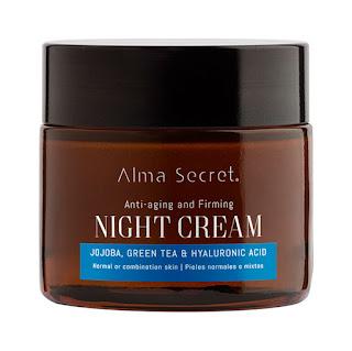 Alma secret crema de noche pieles secas