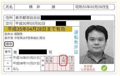 ICカード情報で読み込んだ運転免許証