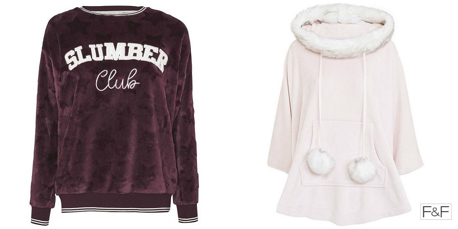 Cosy Lounge Wear, Warm Pyjama Jumpers, Varsity Sweatshirt, The Style Guide Blog