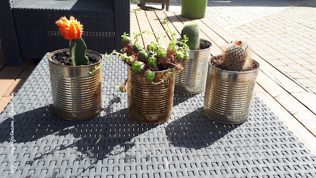 DIY boite rouillé