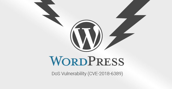 Unpatched DoS Flaw Could Help Anyone Take Down WordPress Websites