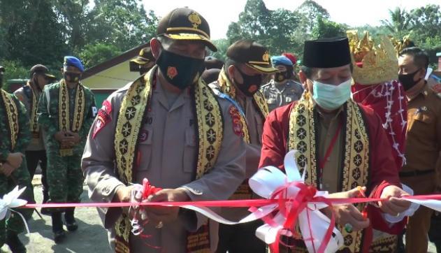 Bandar Lampung Resmikan Kampung Tangguh Nusantara