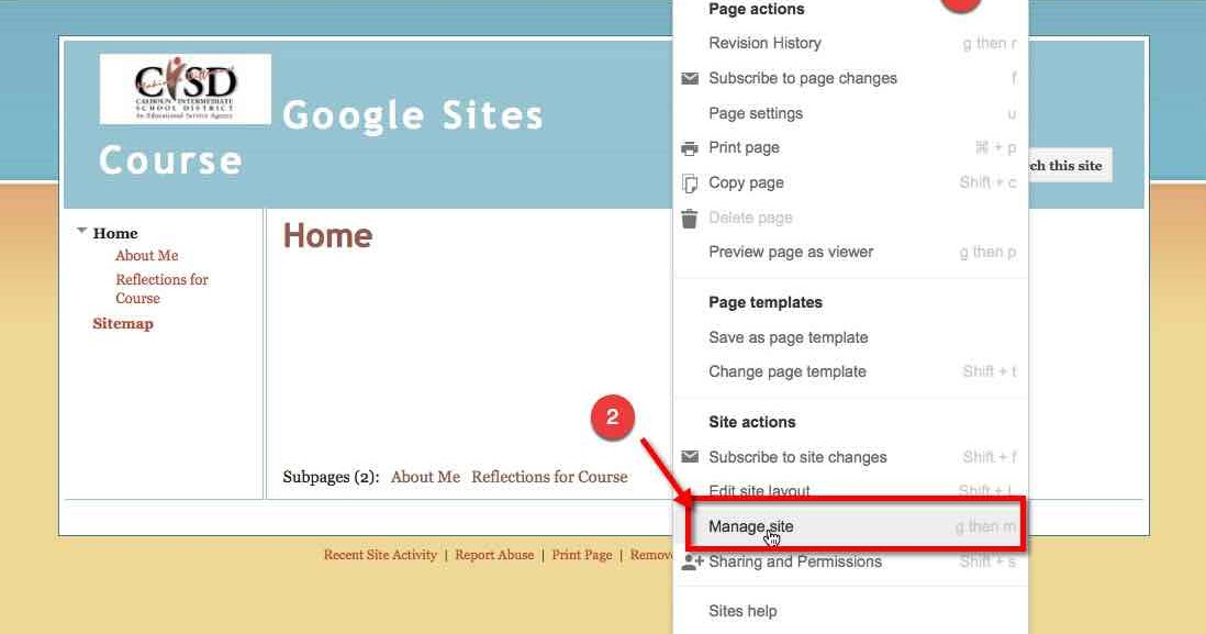 Google Sites - The Proper Way to Change Fonts & Colors
