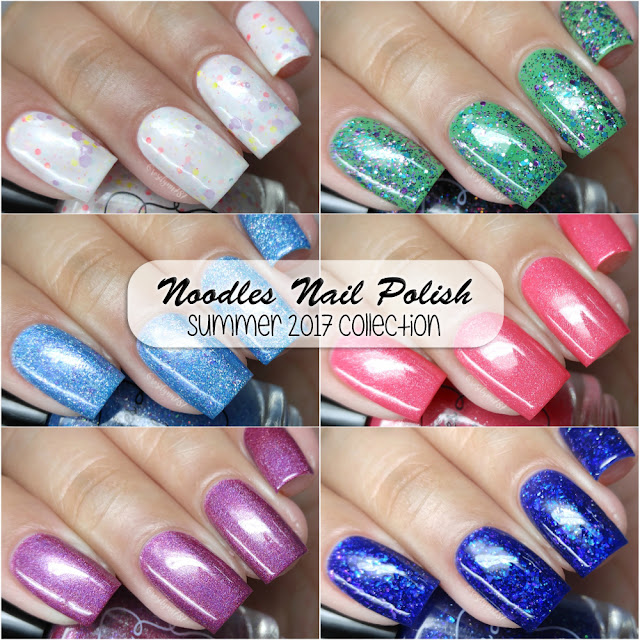 Noodles Nail Polish - Summer 2017 Collection