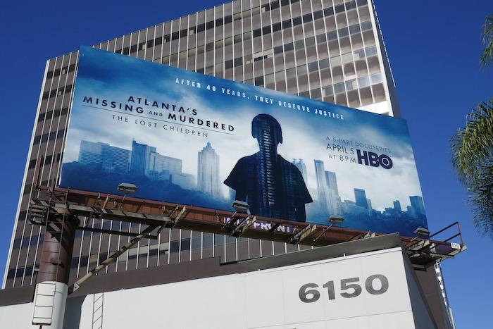 Atlantas Missing Murdered Lost Children billboard