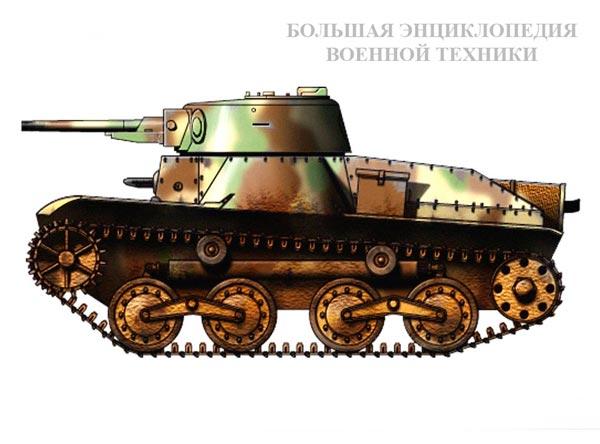 Легкий танк «ТИП 3» («КЕ-РИ»)