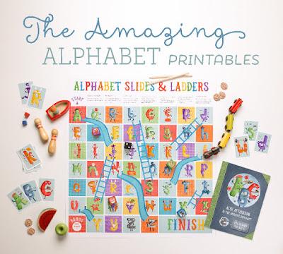 free alphabet games to print