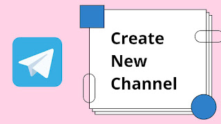 Telegram par new channel kaise banaye with photo