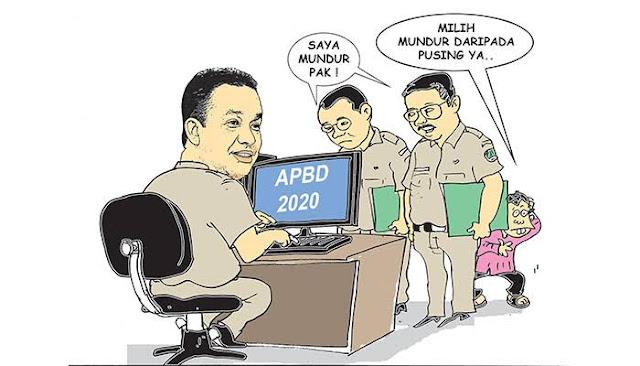 Pasca Polemik Anggaran RAPBD DKI,  Dua Kepala Dinas di Jakarta Mundur