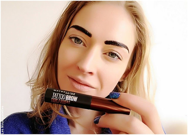 Test du Tattoo Brow l'encre à sourcils - Maybelline - Avis blog beauté