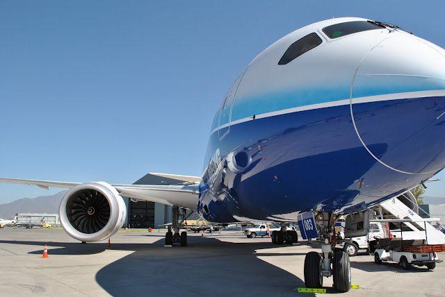 Avião em pista em Mendoza