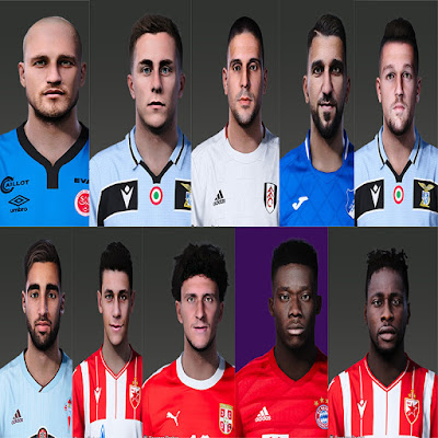 PES 2020 Facepack 2 by Rednik